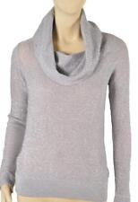 NWT WHITE HOUSE BLACK MARKET SHIMMER COWL NECK SWEATER XS-M-L