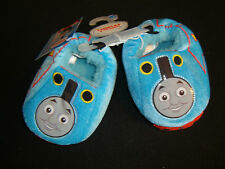 THOMAS THE TRAIN & FRIENDS  PLUSH SOFT SLIPPERS NWTS SHERPA LINED