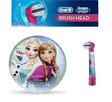 Braun Oral B Stages DISNEY FROZEN Kids Toothbrush Replacement Brush Heads Refill