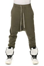 RICK OWENS DRKSHDW New Men Sweatpants Green PRISONNER Pants Made in Italy