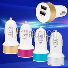 New Travel 2-Port Dual USB Car Charger Adapter For iPhone iPad Mobile Phone