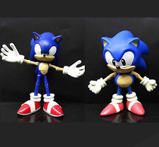 "SEGA Sonic the Hedgehog big Action Figure SUPER SONIC loose 4""-5"" high"