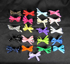 """2"""" Infant/Toddler Hair Bows with Non-Slip Alligator Clip (UPICK 21 Colors)"""