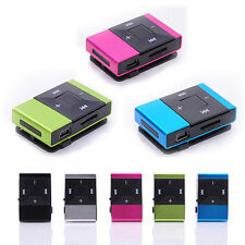Mini USB Clip Digital Mp3 Music Portable MP3 Player Support 8GB Micro SD TF Card