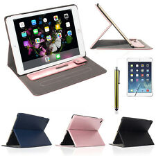 Soft Leather Wallet Smart Case Cover Wake Up Stand Pen Pocket for APPLE iPad Pro