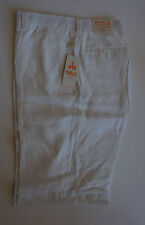 "Inserch Mens 100% Linen shorts (Styel: P21116) ""02-white"""
