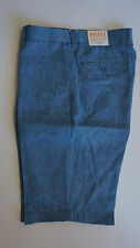 "Inserch Mens 100% Linen shorts (Styel: P21116) ""132-ccean bluer"""