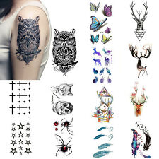 Sexy Removable Sleeve Arm Transfer Waterproof Temporary Tattoo Body Art Stickern
