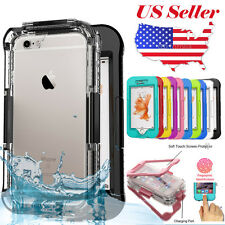 For Apple Iphone 5 5G 5S SE Waterproof Life Water/Shock/Dirt Proof Case Cover