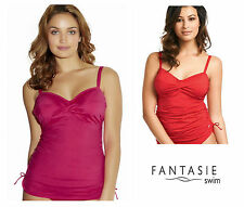 Fantasie Versailles Underwired Tankini Top 5751 Fire Red, Bright Pink * New