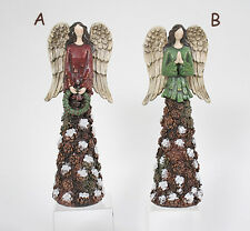 Tall Rustic Pine Cone Angel Figurine (Your Choice) Indoor Home Decor/Accents