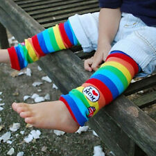 Unisex Baby Toddler Girl Boy Long Socks Leg Warmers Color stripes Sock Leggings