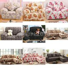Various 1 or 3 Seater Sofa Slipcover Stretch Protector Soft Couch Cover Washable