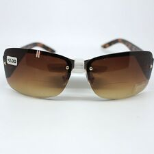 Foster Grant Tempation Tort Womens Sun Readers Brown Framed 2 in 1 Sun Glasses