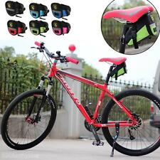 Outdoor MTB Bike Bicycle Cycling Saddle Bag Seat Pouch Tail Rear Pack Pannier