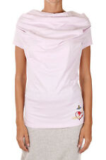 VIVIENNE WESTWOOD RED LABEL New Woman Pink tee t-shirt Jersey cotton NWT