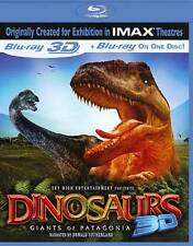 Dinosaurs 3D: Giants of Patagonia (Blu-ray Disc, 2011, 3D), New in shrink wrap