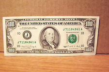 Old Style 1990 One HUNDRED 100 DOLLAR BILL FRN Kansas City Clean & Crisp!