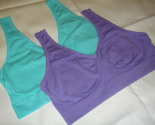 "ORIGINAL ""Ahh Bra"" AS SEEN ON TV"" by RHONDA SHEAR-(Pick Size & Color) AQUA/LILAC"