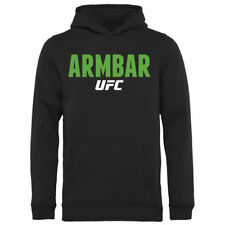 UFC Youth Black Armbar Pullover Hoodie - MMA