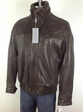 Marc New York  NWT KNICKS -Limited edition BROWN  Lamb leather jacket . size M