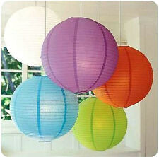 "Lot 5pcs Chinese Paper Lantern Family Wedding Party Decoration 6 "" 8 ""12"""