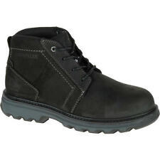 Caterpillar PARKER ESD ST Mens Black WIDE STEEL TOE Slip Resistant Work Boots