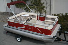 Fall closeout. New 16 ft by 8 pontoon boat  Factory direct