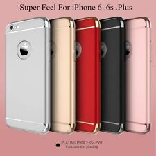 Ultra-thin Hybrid Electroplate Hard Back Case Cover for Apple iPhone 5 6S 7 Plus