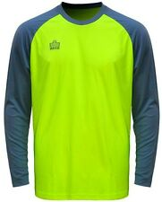 New Admiral Sentry Youth Padded Arm Soccer Goalie Goal Jersey XS-L Optic Yellow