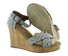 Toms Strappy Wedges Women's Shoes Size