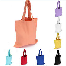 Fashion Women Girl Canvas Shopping Handbag Shoulder Tote Shopper Beach Bag WB