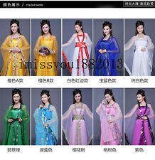 Chinese Ancient Infanta Fairy Princess Dramaturgic Costume Women's Robe Dress