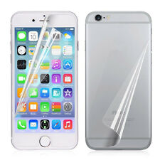 3PCS Front/Back Clear Film HD LCD Screen Protector For iphone 6 7 6s Plus 5S SE