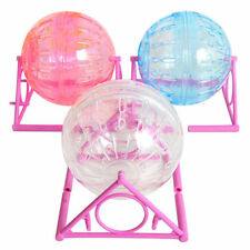 Pet Hamster Exercise Ball Rodent Mice Jogging Gerbil Rat Play Small Plastic Toy