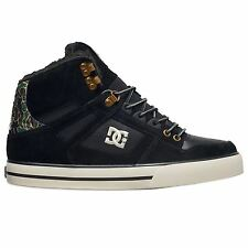DC Shoes Spartan WC WNT High Top Black Camo Mens Trainers
