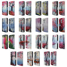 OFFICIAL GRAHAM GERCKEN TREES LEATHER BOOK WALLET CASE COVER FOR LG PHONES 1