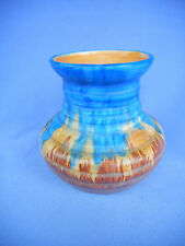 A SMALL  CARLTON WARE VASE  OF RIBBED  SHAPE ~ LOVELY  DISPLAY ITEM !