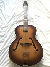 Late 1950s West German Framus Archtop Guitar