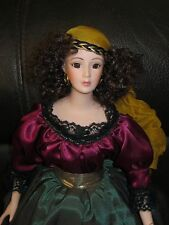 Hillview Lane Limited Edition Porcelain Collectors Doll Gypsy Carmen