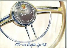 1948 Packard Sale Brochure of All New Eights for 48 Ask The Man Who Owns One