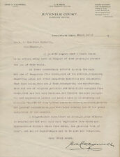 Letter + Flyer - 1910 - Fireworks, Pyrotechnics, 4th of July - Possible Ban