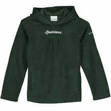 Columbia Michigan State Spartans Girls Youth Green Glacial Hoodie