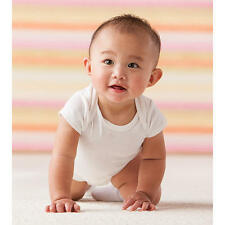 PACKS Baby Bamboo Organic Onesies Plain No dyes. 70% Bamboo 30% Organic Cotton.