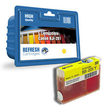 COMPATIBLE CANON BJI-201Y YELLOW PRINTER INK CARTRIDGE / FOR CANON BJC RANGE