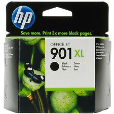 GENUINE HP HEWLETT PACKARD HIGH CAPACITY BLACK INK CARTRIDGE HP 901XL (CC654AE)