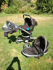 Silver Cross Surf Pram/Pushchair & Carrycot