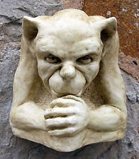 Latex Rubber Mould Mold Molds Of a Gargoyle Wall Plaque