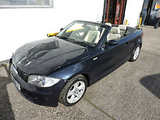 58 BMW 118i SE 2.0 Convertible Damaged Salvage Repairable Cat D