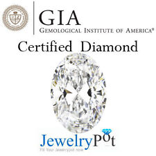 1CT I SI1 Oval GIA Certified Natural Brilliant Loose Diamond Stone (1179590581)